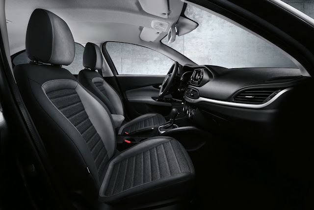New Fiat Aegea Interior