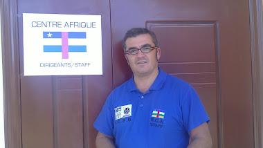 Paco García. Seleccionador CentroAfrica