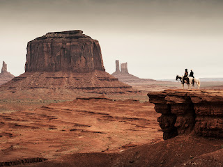 The Lone Ranger and Tonto on Horse HD Wallpaper