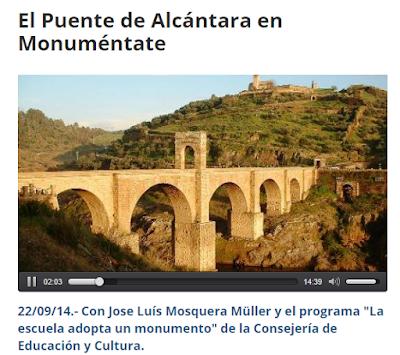 http://www.canalextremadura.es/alacarta/radio/audios/el-puente-de-alcantara-en-monumentate