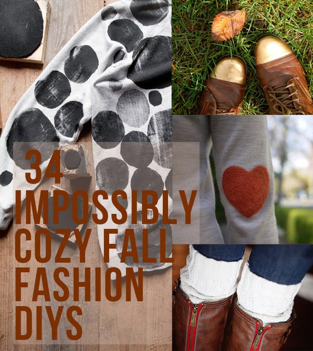 34 Fall Fashion DIYs That Are Incredibly Easy