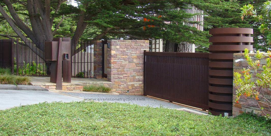 Compound walls and gates garden decoration ideas homemade for Compound garden designs