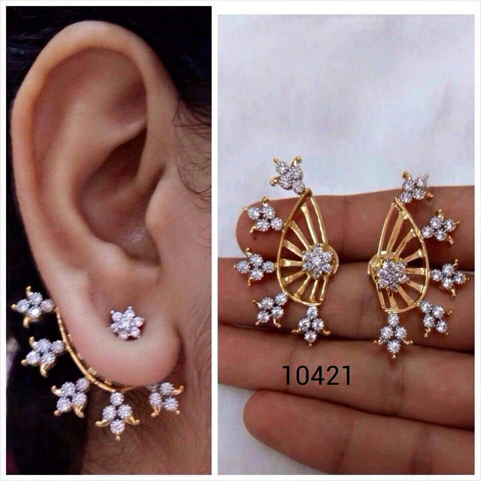 Latest Designer Ear Cuff Collections | Elegant Fashion Wear