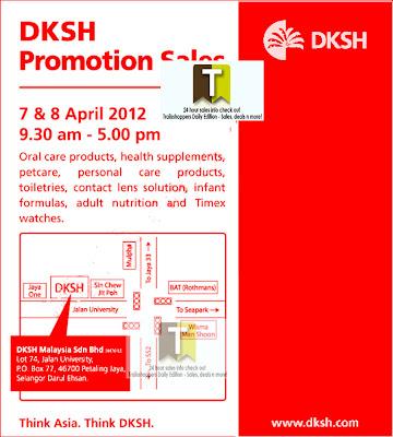 DKSH Promotion Sales 2012