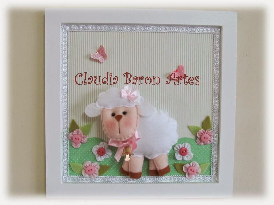 Claudia Baron Artes Enfeites de porta de maternidade e decoração de quarto i