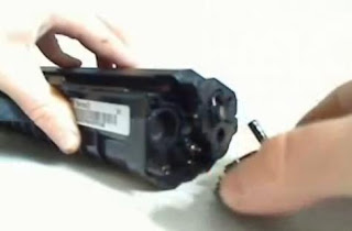 Procedimiento para quitar tapa de Samsung ML-210