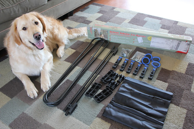 Solvit Car Barrier review Dog Safety, Travel Safely with pets, giveaway