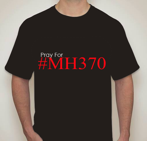 Baju Printing Pray for MH370