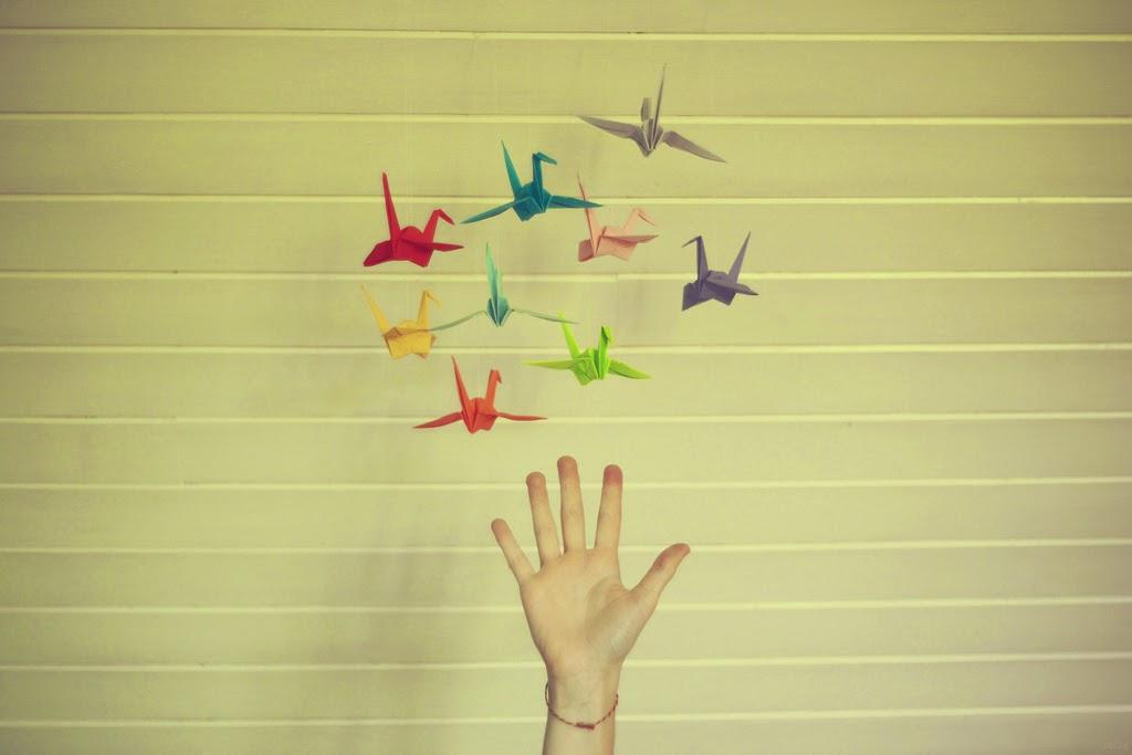 aves de origami