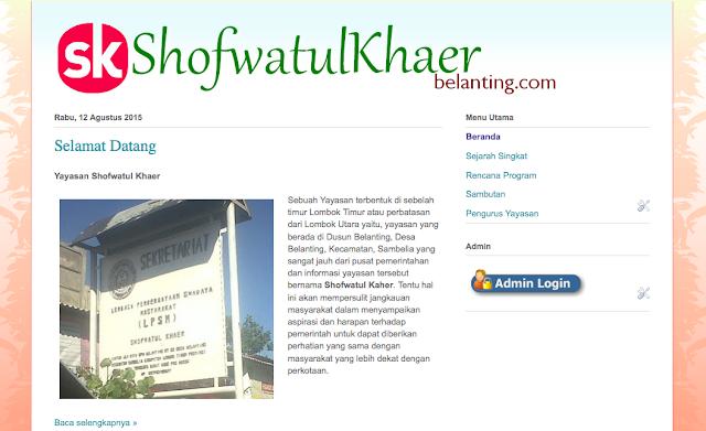 www.shofwatulkhaerbelanting.com
