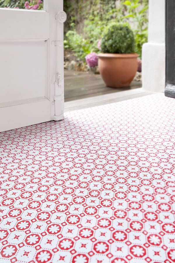Patterned Cheap Vinyl Flooring For Kitchen