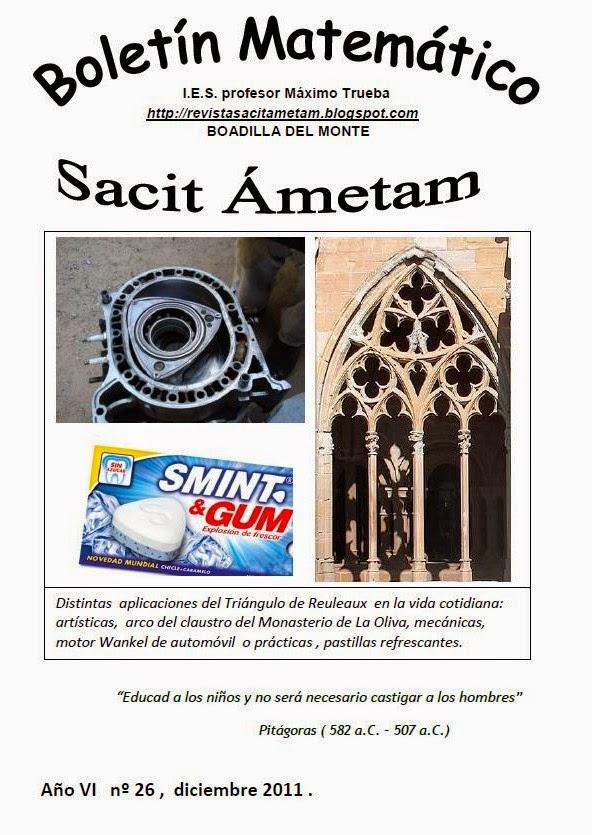 Boletín Sacit Ámetam nº 26