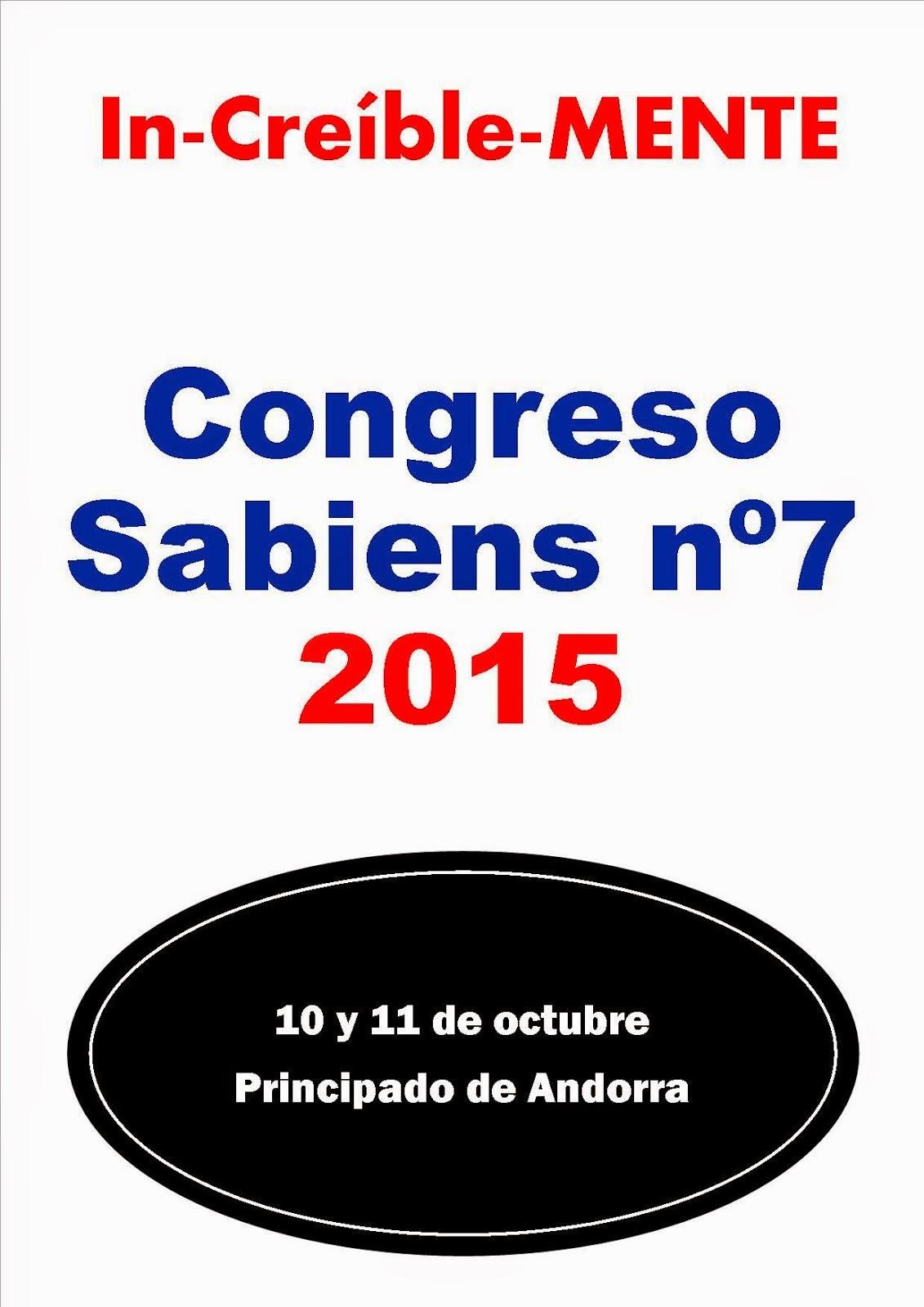 CONGRESO SABIENS 2015