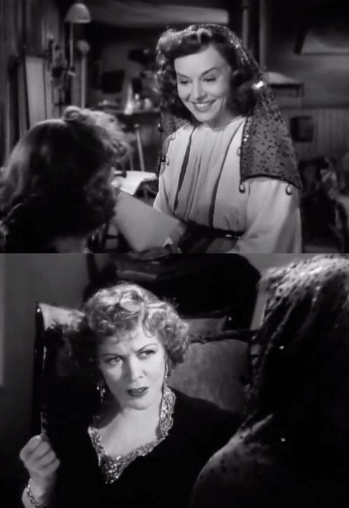 The Crystal Ball Starring Paulette Goddard, and Gladys George