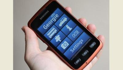 Desain Khusus Smartphone Untuk Tuna Netra