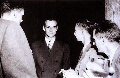 Richard Feynman Robert Oppenheimer