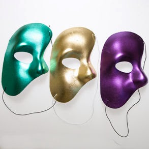 Mardi Gras Phantom Masks