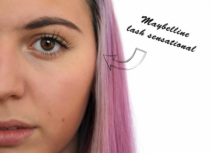 Maybelline Lash Sensational Mascara Swatch