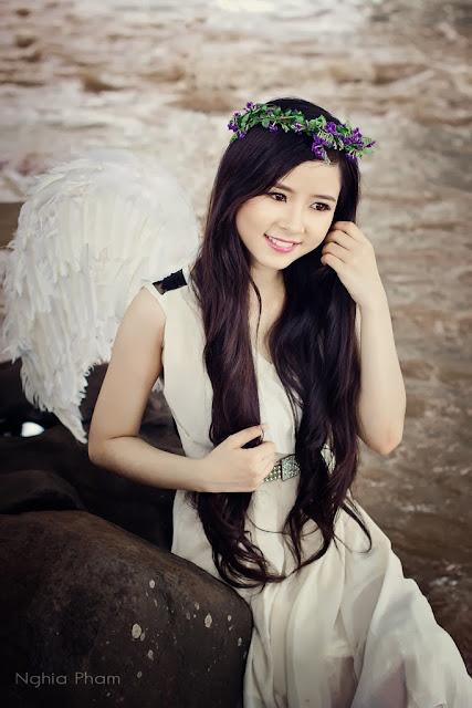 Girl xinh Việt Nam đẹp như thiên thần