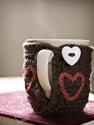 Free Crochet Pattern - Mug Cozy from the Cozies Free