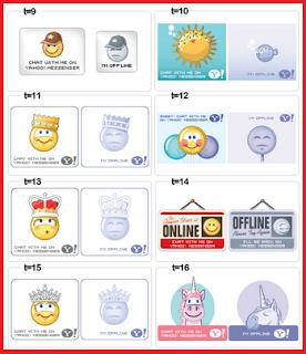 Kode Icon Yahoo Messenger