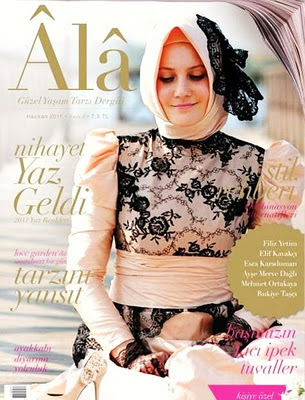 hijab rapping wedding style magazine