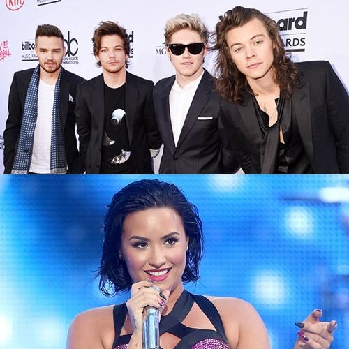 Demi Lovato cantará junto a One Direction en el 2016