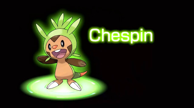 pokemon x/y chespin