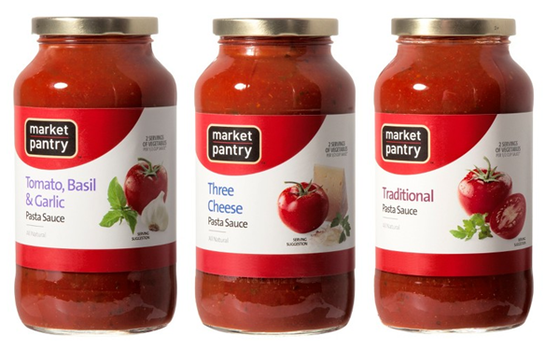 ... of Savings : Target: Market Pantry Pasta Sauce, ONLY $0.63 each