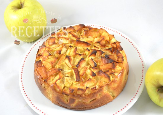 gâteau aux pommes sans gluten sans lactose