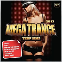 CD Mega Trance Top 100 ( 100 Músicas 5 CDs )