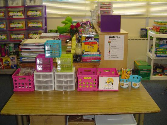 Classroom Launch Ideas ~ Writing center ideas for first graders classroom set up