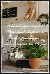 Give away hos Mille Vanille