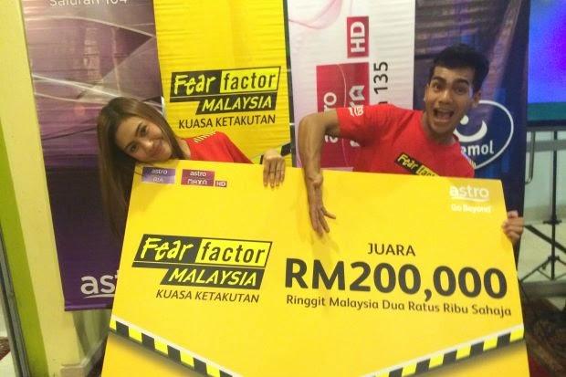 Erin Malek & Redha Juara Fear Factor Malaysia 2