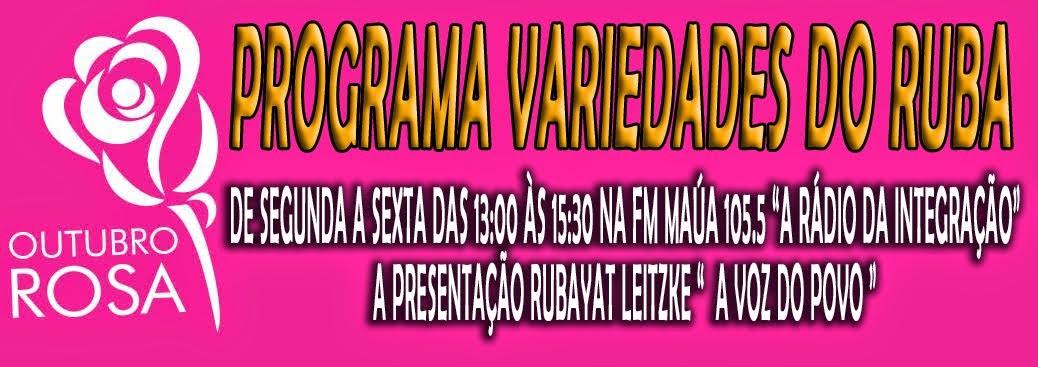 PROGRAMA VARIEDADES DO RUBA