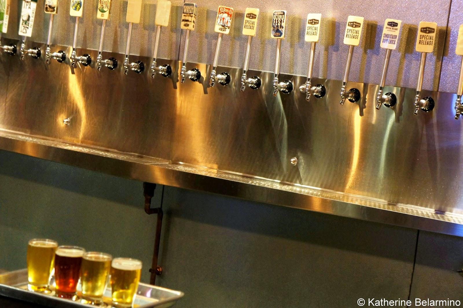 Karl Strauss Brewery Tasting Room Beers