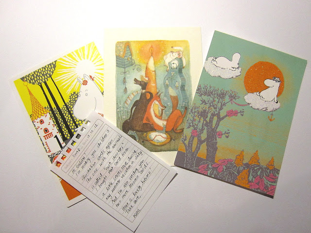 moomin cards
