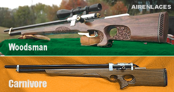 Bigbore airguns, Big Bore Airguns, Rifles de aire bigbore