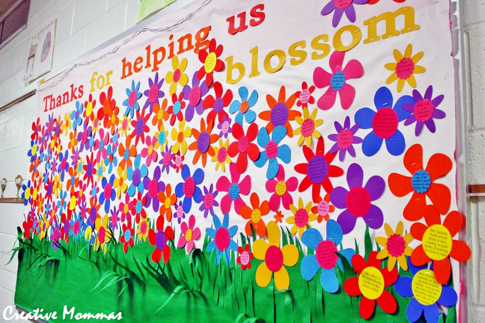 Creative Mommas May Pto Teacher Appreciation Bulletin Board