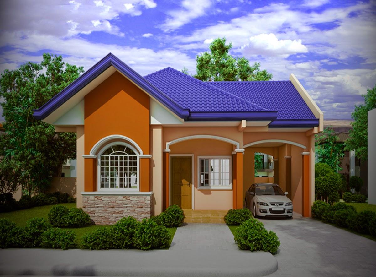 fasad tampak depan rumah minimalis 1 lantai 3 kamar