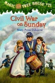 bookcover of Civil War On Sunday  (Magic Tree House #21) by Mary Pope Osborne
