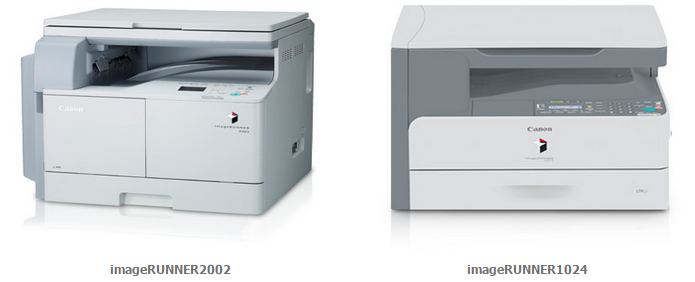 Canon imageRUNNER 1024 and imageRUNNER 2002