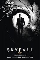 skyfall movie poster, 007, daniel craig