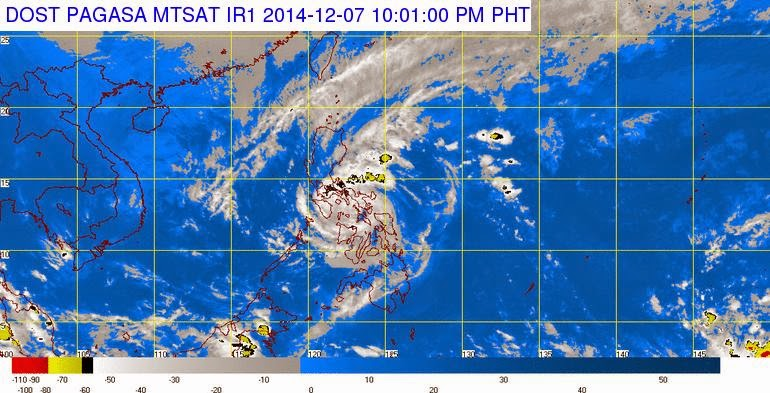 Typhoon Ruby maintains strength; Signal No. 2 now up in Metro Manila