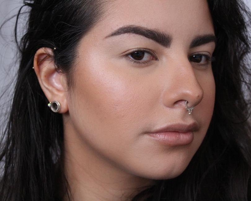 foundation face routine makeup winter normal skin highend giorgio armani luminous skin 5 laura mercier powder nars radiant creamy concealer custard mac melba