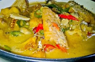 Ikan Jambal Masak Kuah