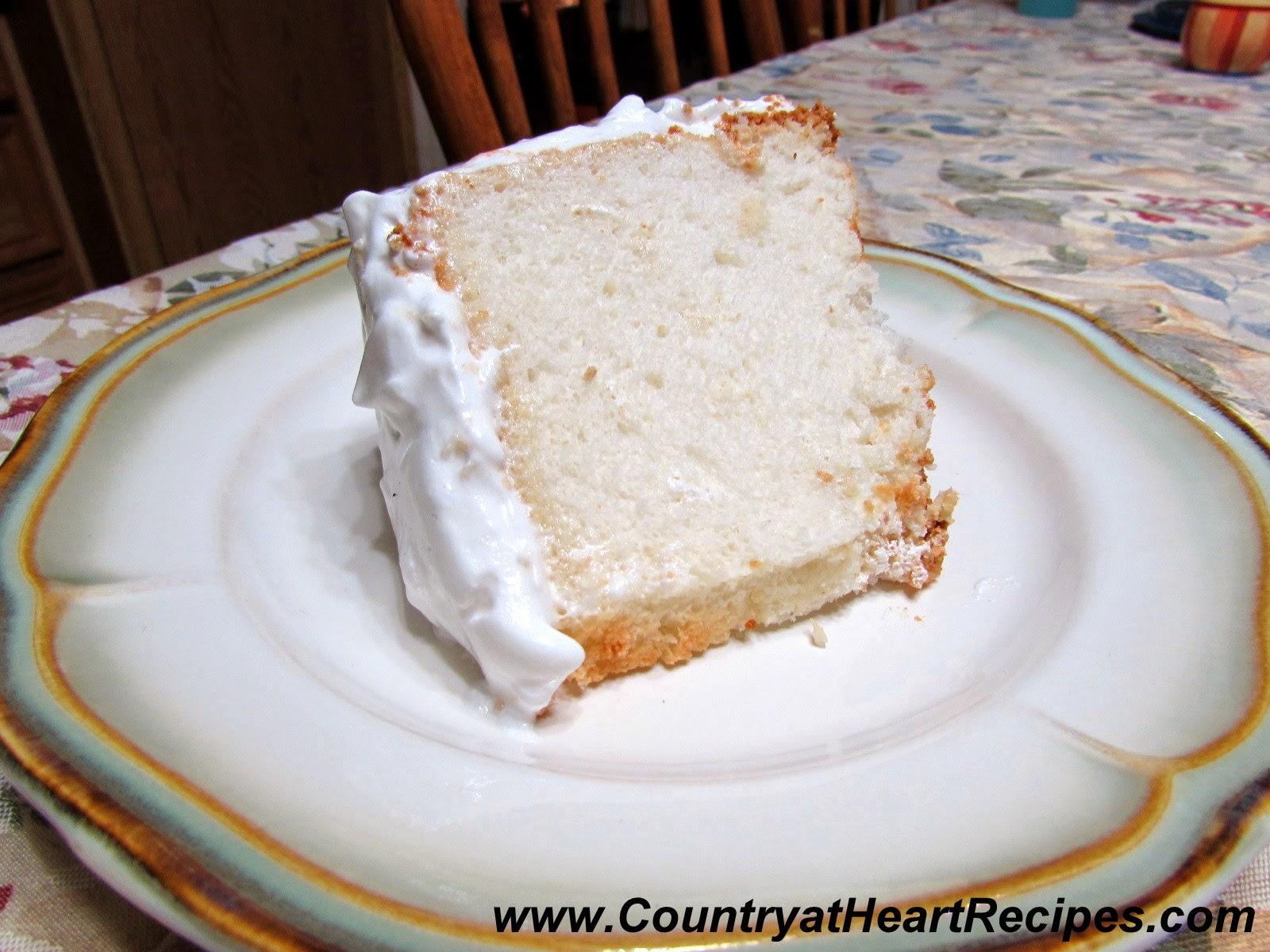фото с торт пища ангелов рецепт