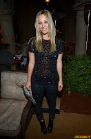 Kaley Cuoco Naeem Khan Private Dinner at the Chateau Marmont