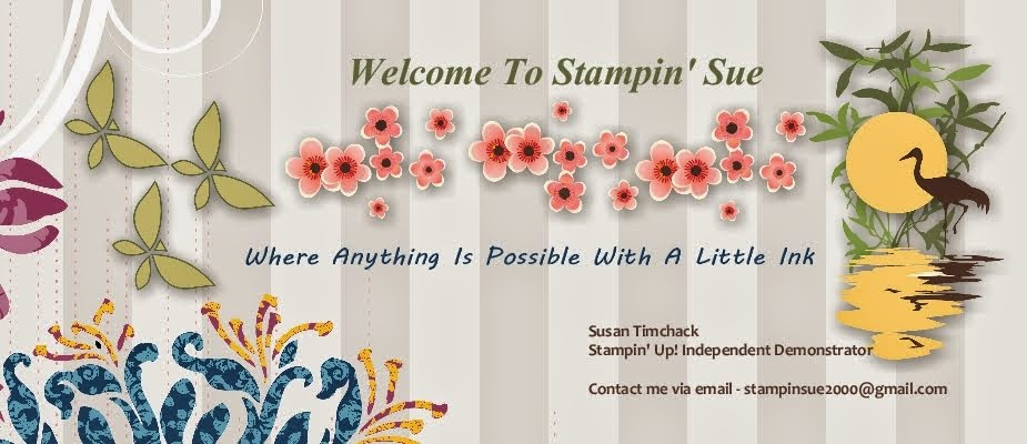 Welcome to Stampin Sue