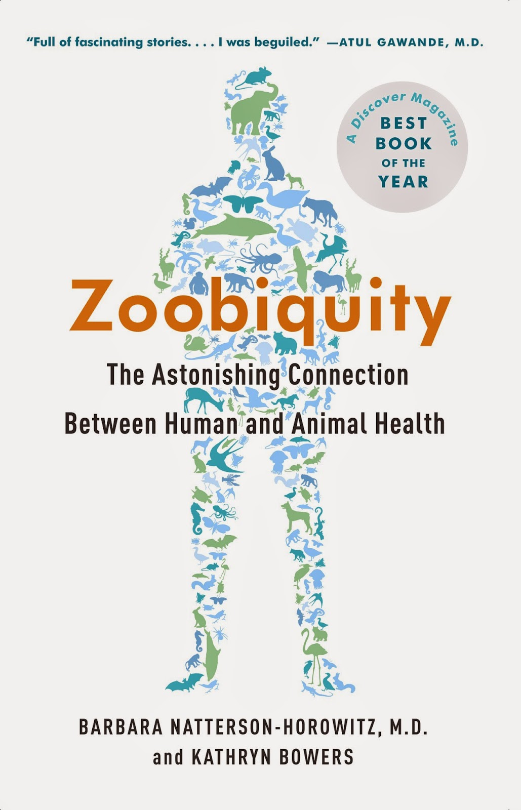 Zoobiquity shows the connection between animal and human health